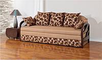 Диван-кровать NST Alliance Мираж Д с деревянными подлокотниками 204 х 77 х 83 см