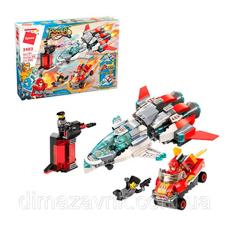 """Конструктор Brick 3403 """"Power Squad"""" 356 деталей"""