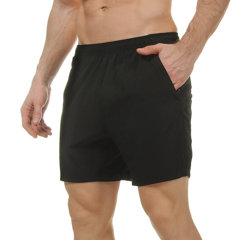 Короткі шорти спортивні чоловічі LD-3503 чорний