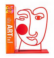 Держатель для книг Red Art Face (красный)