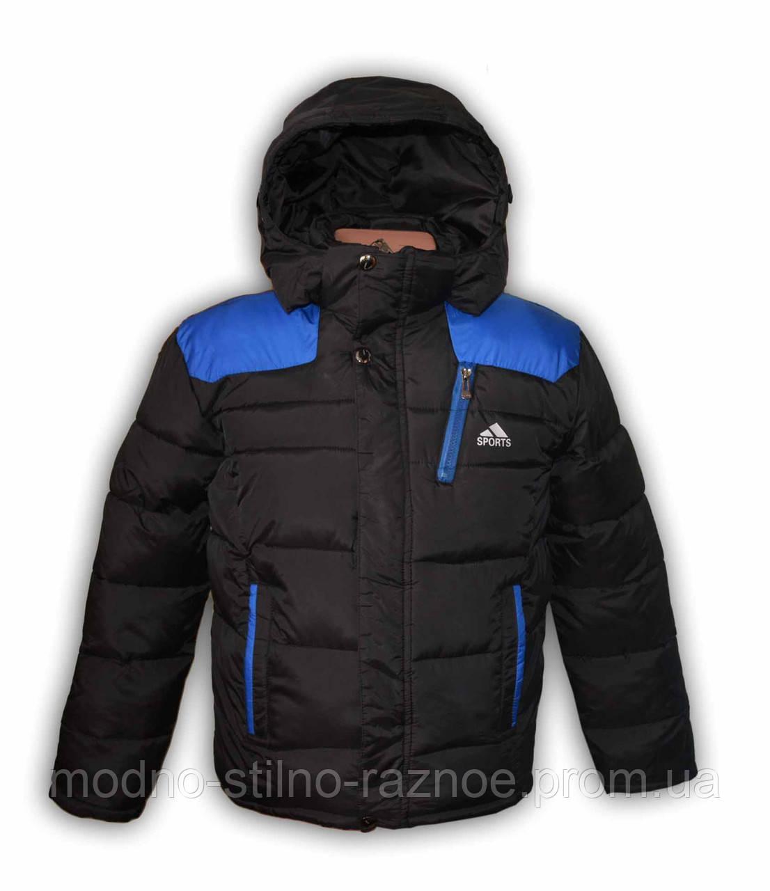 Куртка зимняя на мальчика. 140-146