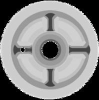 Опора пружины передней верхняя A21-2901015 ORG
