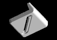 Пластина регулировочная лобового стекла A11-5206071