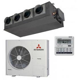 Канальные кондиционеры Mitsubishi Heavy FDUM140VNS (VNX\ VXS) Hyper Inverter (1 фаза)