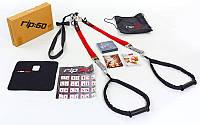 Петли TRX функциональный тренажер RIP-60 TRAINER (петли подвесные, дверное крепление, DVD, сумка