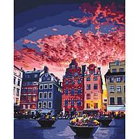 Картина по номерам Идейка Каникулы в Стокгольме 40х50 см (KHO3558)