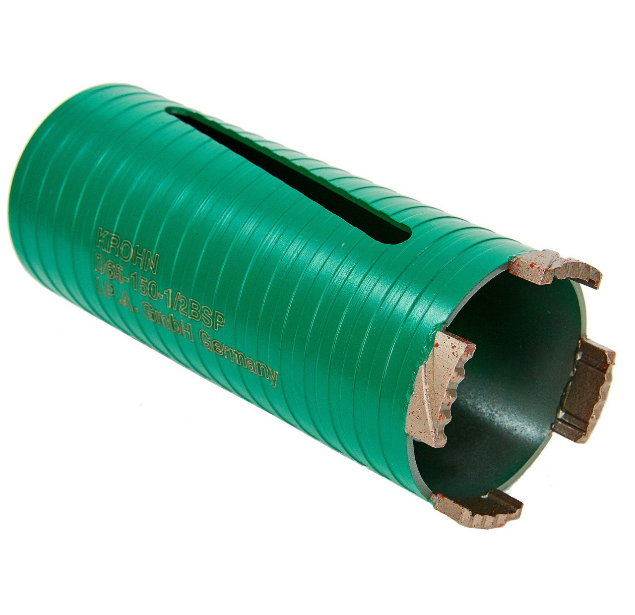 Алмазная коронка для сверления без воды KROHN (Ø52 мм, 1/2 BSP, L150)