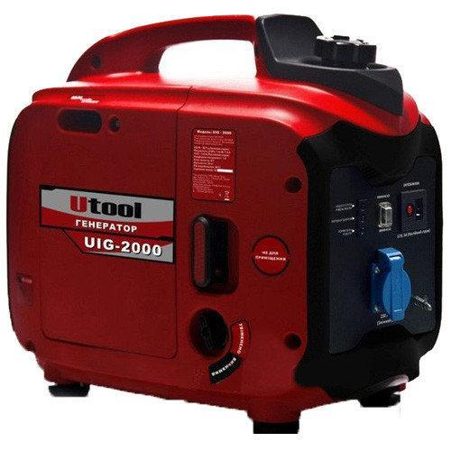 Инверторный генератор Utool UIG-2000 (2,0 кВт)