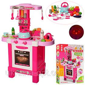 Интерактивная кухняLimo Toy 008-939. Световые и звуковые эффекты. Микроволновка, кофемашына.