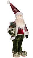 """Новогодняя фигура под елку """"Санта Клаус с подарками"""", новогодняя игрушка, размер 88 см"""