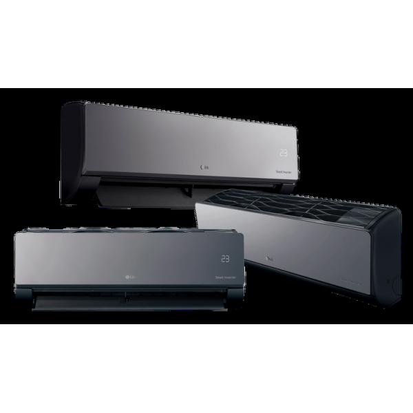 Кондиционер LG AC12BQ Artcool Mirror Black Inverter WiFi