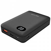 УМБ Power Bank Walker WB-311 10000mAh +LCD Li-Pol 1xUSB 1xUSB Type-C 2.1A Black