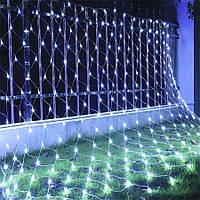 Гирлянда Сетка светодиодная — 240-LED, 2х2м цвет белый