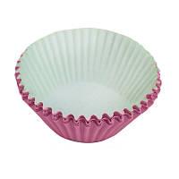 Формы для кексов, большие, розовые