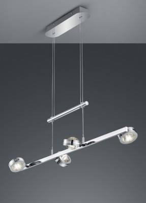 Подвесной светильник Trio Lentil 372510806, фото 2