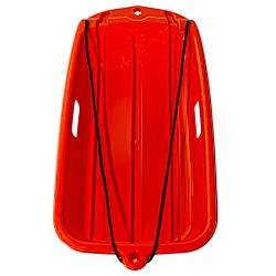 Снегокат с веревкой Kronos Toys 69 х 36 см Оранжевый WSP1700292, КОД: 1339607