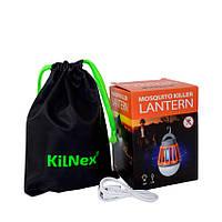Фонарь для кемпинга KILNEX USB 2000 mAh с функцией уничтожения комаров Зеленый KL 100, КОД: 360193