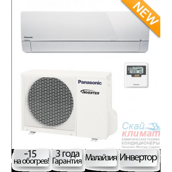 Кондиционер Panasonic CS/CU-E 12PKEA Server до -20 С на охлаждение New 2017