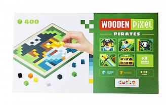 Мозаика Cubika Wooden pixel 5 Pirates 14910 Разноцветный, КОД: 1318387