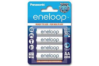Аккумуляторные батарейки Panasonic Eneloop AA 1900 mAh 4 шт 003701, КОД: 949514