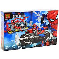 Конструктор «Спайдермен» Super Heroes Marvel Comics Спасательная операция на мотоциклах 252 детали