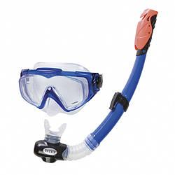 Набор для плавания Intex 55961 гипоалергенный Cиний int55961, КОД: 199743