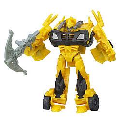 Трансформер Hasbro Transformers BumbleBee Бамблби 10 см 36-143374, КОД: 743140