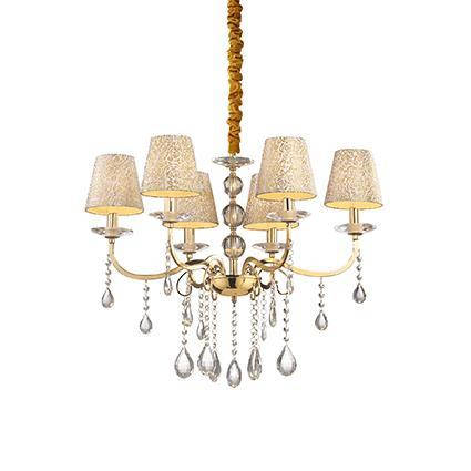 Люстра Ideal Lux PANTHEON SP6 ORO 088068, фото 2