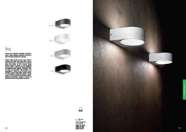 Уличный светильник Ideal Lux IKO AP1 ANTRACITE 018515, фото 2