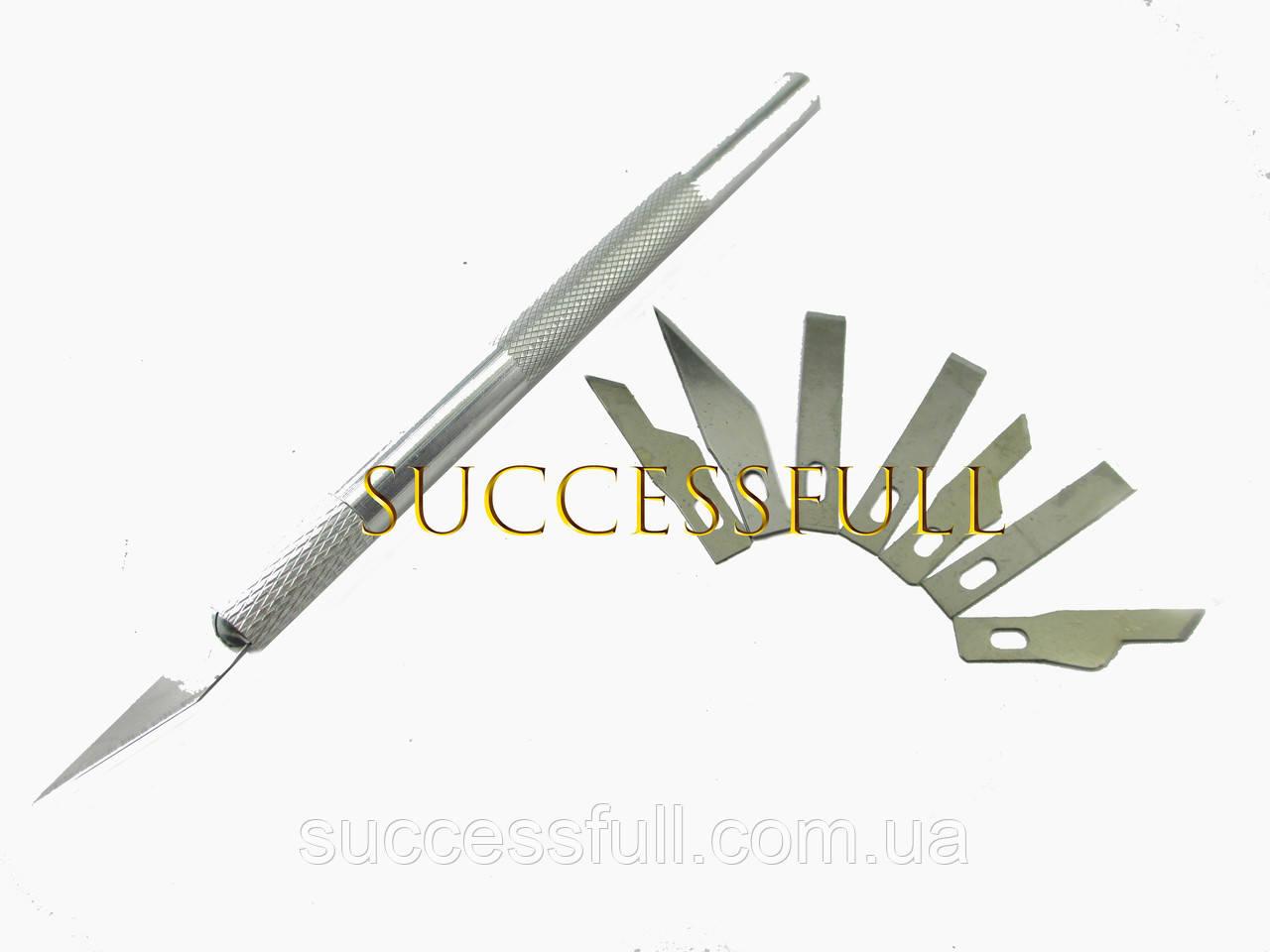 Набор ножей для резьбы по дереву 9 сменных ножей