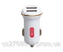 Автомобільний зарядний пристрій USB (МР3) XO CC-13 (2 USB/2,1 A) в асортименті