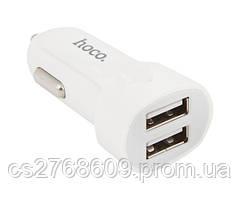 Автомобільний зарядний пристрій USB (МР3) Hoco Z2A (2 USB/2,4 A) в асортименті