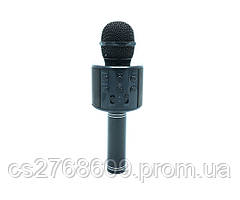 Караоке мікрофон WS-858 (Black)