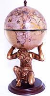 "Напольный глобус-бар ""Atlas"" 42016N-GE"