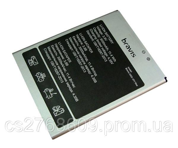 Батарея / Акумулятор 100% Original Bravis Joy Max A552