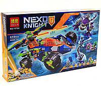 Конструктор Bela 10704 Nexo Knight «Вездеход Аарона 4x4», 614 дет