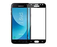 Защитное стекло захисне скло Samsung J3 Pro 2017 чорний без упаковки