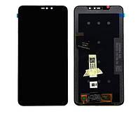 "LCD Xiaomi Redmi Note 6 Pro + Touchscreen (black) ""Original"""