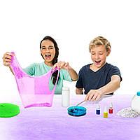 Набор для изготовления слайма Кинетический песок Kinetic Sand Slime Lab