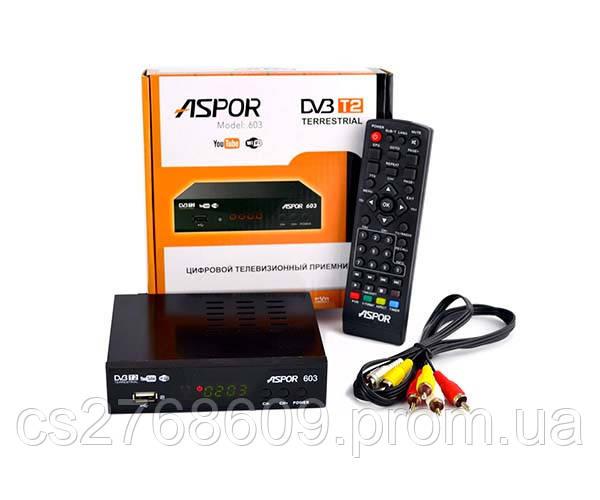 T2 - тюнер ASPOR 603