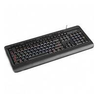 Клавіатура USB мультимедійна HQ-Tech KB-310FMC