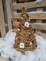 Декоративная новорічна ялинка на стіл 50 см