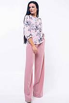 Женский брючный костюм с блузкой (Мирей ri), фото 2