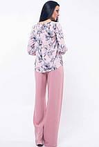 Женский брючный костюм с блузкой (Мирей ri), фото 3