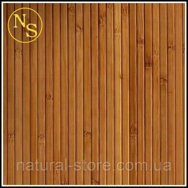 Темные бамбуковые обои 150см - ширина планки 8мм TM Safari