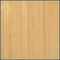 Бамбуковые обои лак светлые 90см - планка 17мм TM Safari, фото 1