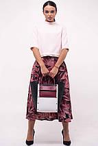 Женский костюм с юбкой-миди и блузкой (Юка ri), фото 3
