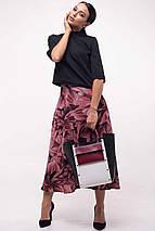 Женский костюм с юбкой-миди и блузкой (Юка ri), фото 2