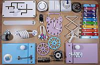 Бизиборд BusyBliss разноцветный 40х60 см, фото 1