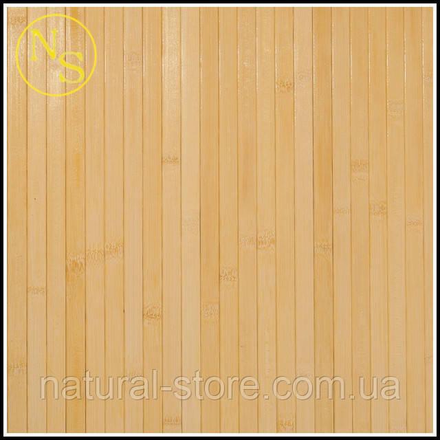 Бамбуковые обои лак светлые 2,5м - планка 17мм TM Safari (250см)